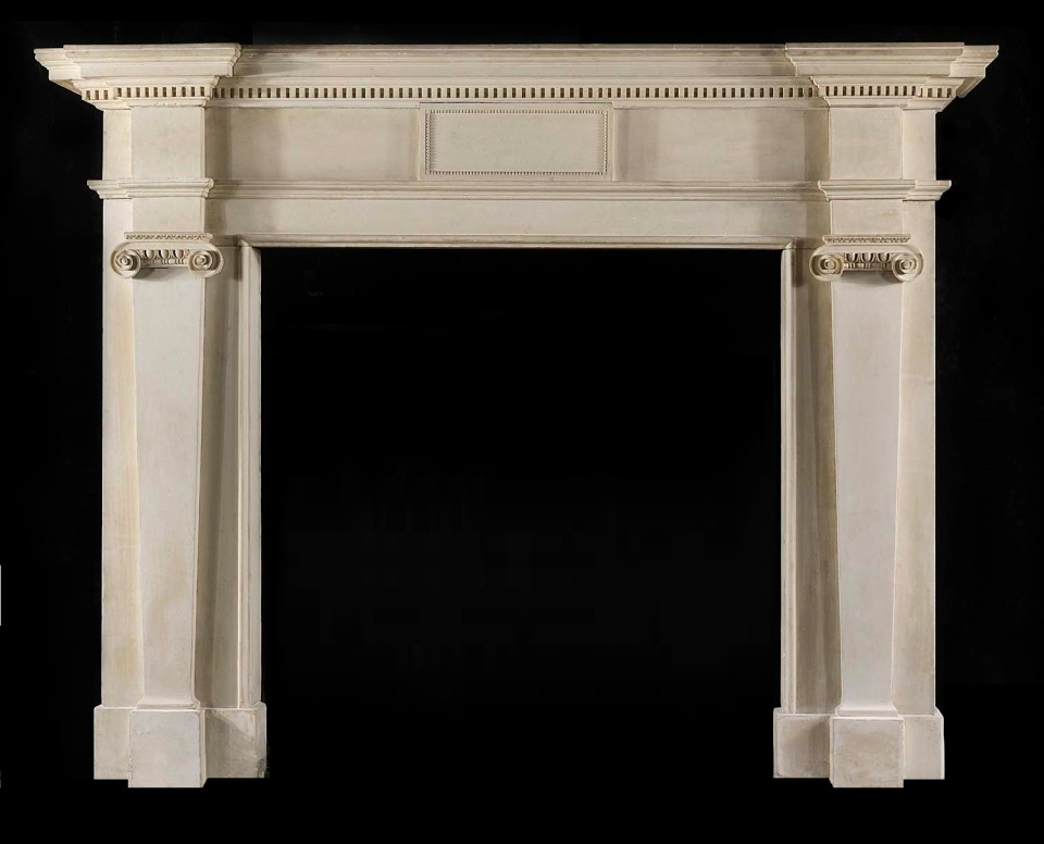 Gower Limestone fire surround